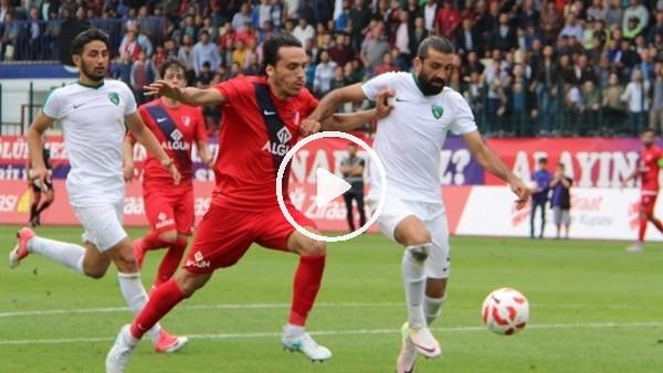 Düzcespor 1-0 Kocaelispor (Maç Özeti ve golleri)