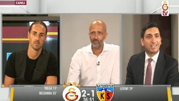 Belhanda ve Gomis'in gollerinde GS TV!