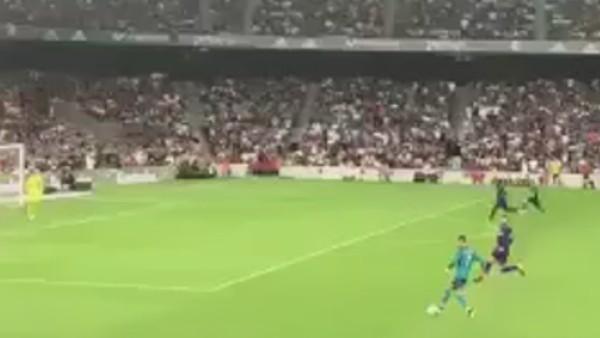 Ronaldo'nun golü tribün çekimi