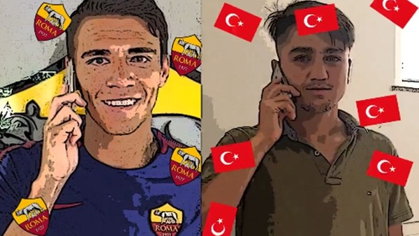 "Roma'dan Cengiz Ünderli ""Come to Roma"" videosu"