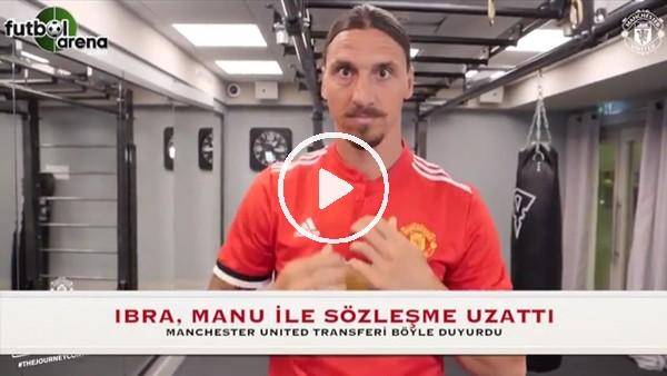 İbrahimovic, Manchester United ile sözleşme uzattı