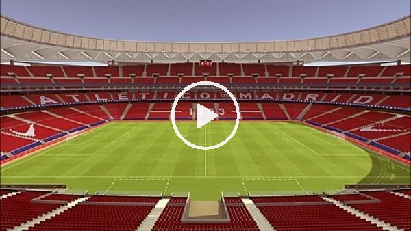 Atletico Madrid, Wanda Metropolitano'ya kavuşuyor
