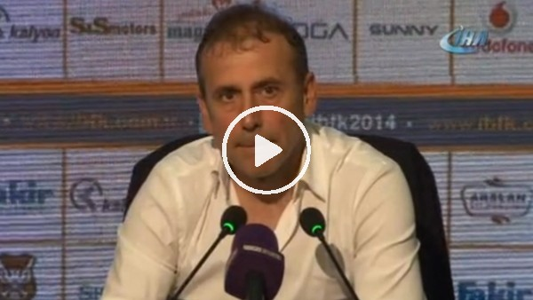 """Abdullah Avcı: """"Zorlu bir haftadan sonra oyunun içinde olmak önemliydi"""""""