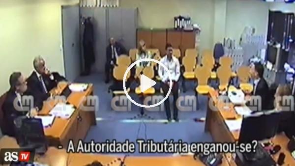 Cristiano Ronaldo'nun mahkeme salonundaki görüntüleri!