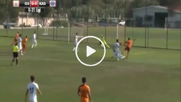 Galatasaray'ın genç futbolcusu Ahmet Sivri'den harika gol