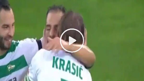 Krasic'ten şık asist