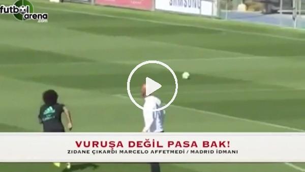 Zidane'dan Marcelo'ya enfes pas!