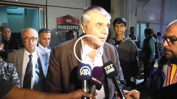 """Akhisarspor Başkanı Hüseyin Eryüksel: """"Kırmızı kartlar doğru gibi geldi"""""""