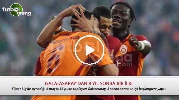 Galatasaray'dan 8 sezon sonra bir ilk!