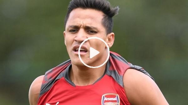 Alexis Sanchez'den mini şov!