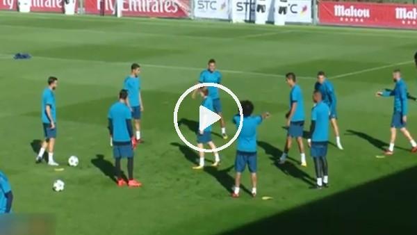 Benzema, Ronaldo'yu böyle sakatlıyordu!