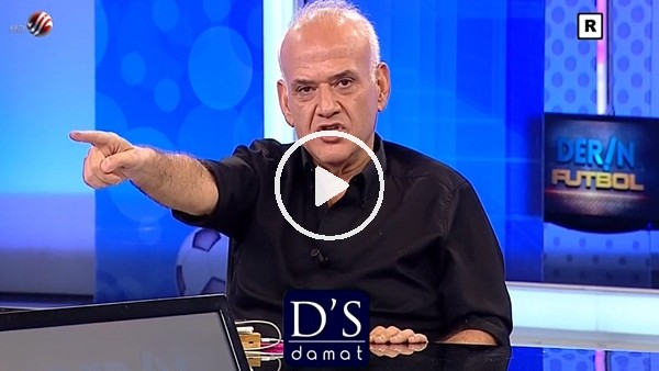 Ahmet Çakar, Caner Erkin'i canlı yayında tehdit etti