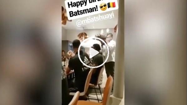 Michael Batshuayi'nin doğum günü kutlandı