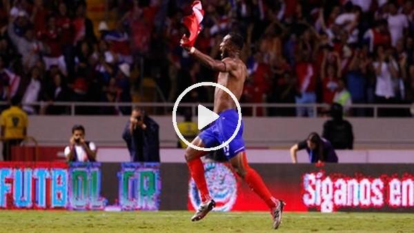 Costa Rica, 90+5'te attığı bu golle Dünya Kupası'na gidiyor