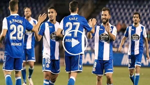Deportivo'dan bol gollü prova!