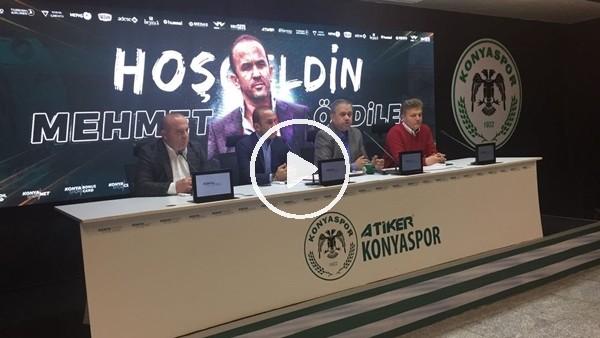 Mehmet Özdilek, Konyaspor'a imzayı attı!