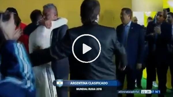 Messi koskoca başkanı ağlattı