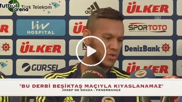 Josef de Souza'dan Beşiktaş maçına gönderme