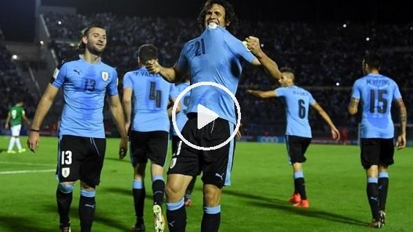 Uruguay 4-2 Bolivya maç özeti ve golleri