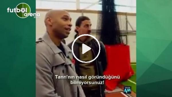 Ibrahimovic'ten Henry'yi şoke eden yanıt!