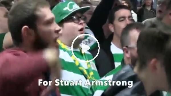 'Celtic taraftarından Armstrong'a beste!