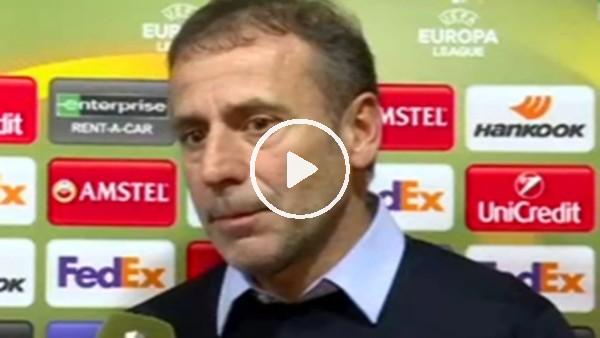 Abdullah Avcı'nın Hoffenheim maçı sonrası açıklamaları