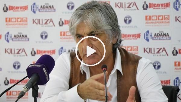 """Kemal Kılıç: """"Adanaspor en verimli oyununu oynadı"""""""