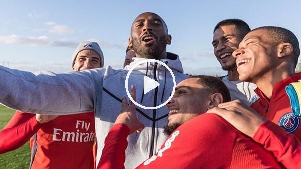 Kobe Bryant, PSG antrenmanına konuk oldu