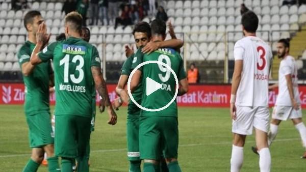 Akhisarspor 6-0 Erzincanspor (Maç Özeti ve golleri)