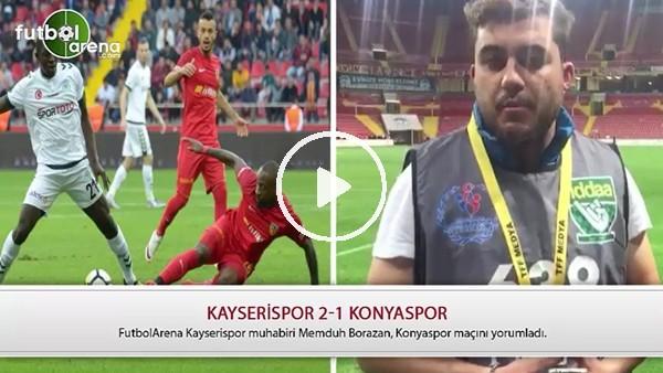 Kayserispor, Konyaspor karşısında nasıl oynadı?