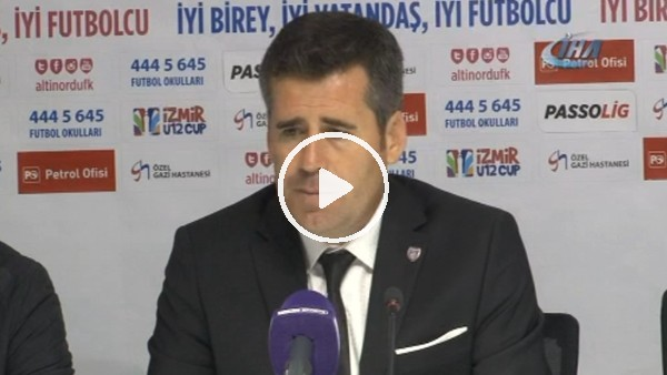 """Hüseyin Eroğlu: """"Kazanmak istediğimiz bir maçtı"""""""