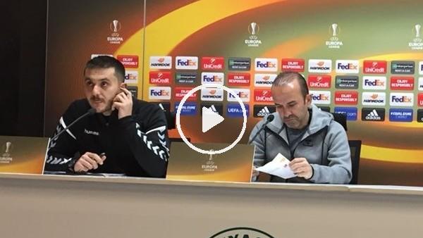 Mehmet Özdilek'in Marsilya maçı öncesi açıklamaları