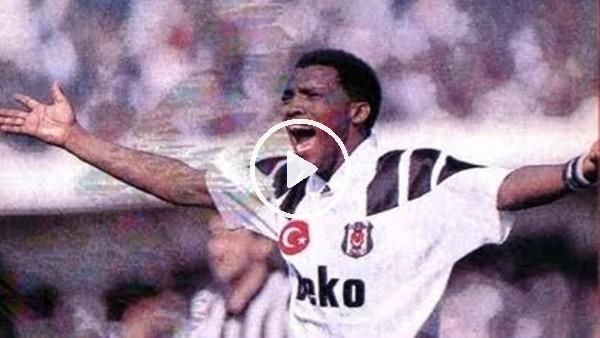 Fani Madida, Beşiktaş formasıyla ilk golünü Fenerbahçe'ye atıyor