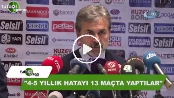 """Aykut Kocaman: """"4-5 yıllık hatayı 13 maçta yaptılar"""""""