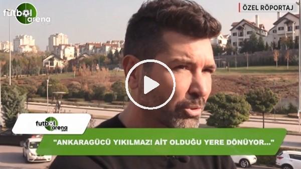 """Hakan Kutlu: """"Ankaragücü yıkılmaz! Ait olduğu yere dönüyor"""""""