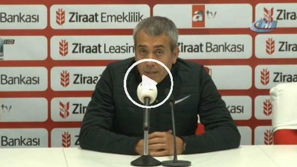 """Kemal Özdeş: """"Takımı korumak adına rotasyon yaptık"""""""