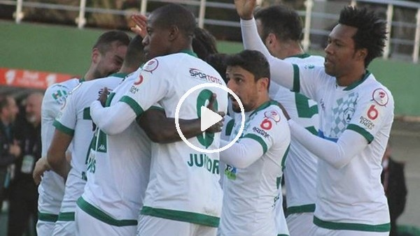 Giresunspor 4-2 Alanyaspor(Maç özeti ve golleri)