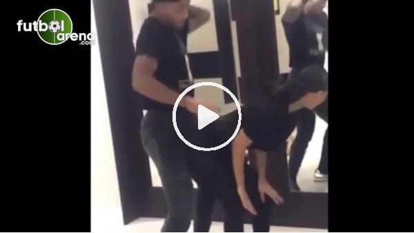 'Mario Lemina ile Balotelli'nin eski sevgilisinden seksi dans