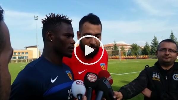 """Stephane Badji: """"Zor bir maç bizi bekliyor"""""""