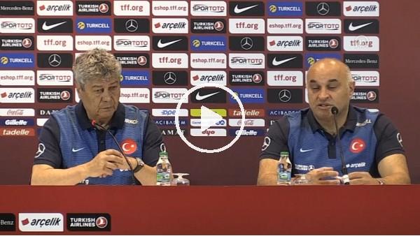 Mircea Lucescu'nun Arnavutluk maçı öncesi açıklamaları