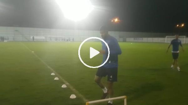 Rizespor'daRamos ve Ismael takımdan ayrı çalıştıı