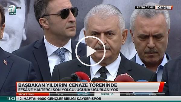 Başbakan Binali Yıldırım, Naim Süleymanoğlu'nun cenazesinde!