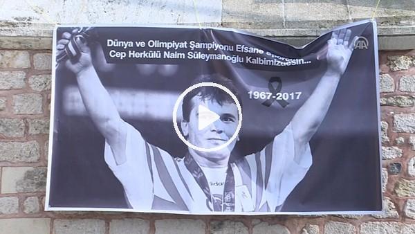 Naim Süleymanoğlu son yolculuğuna uğurlanıyor