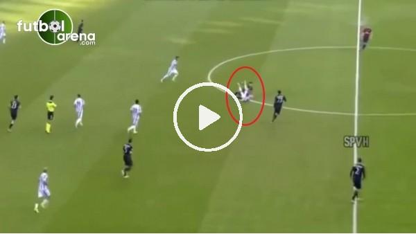 Fenerbahçe'nin gözdesi Gustavo Gomez'den rakibi etkisiz bırakan hareket