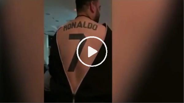 Ronaldo aşkını vücuduna kazıdı!