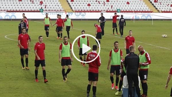 Arnavutluk, son çalışmasını yaptı