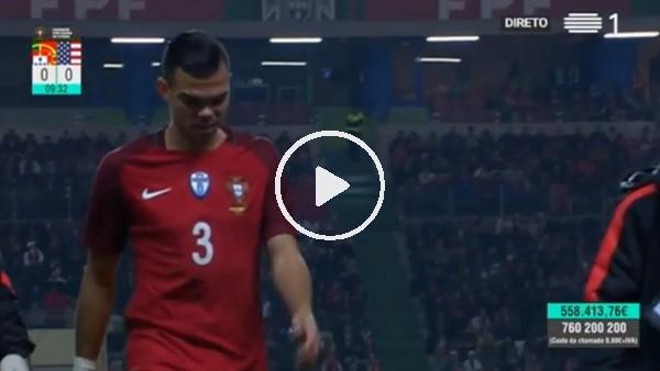 Pepe sakatlanarak oyundan çıktı, yerine Neto girdi!