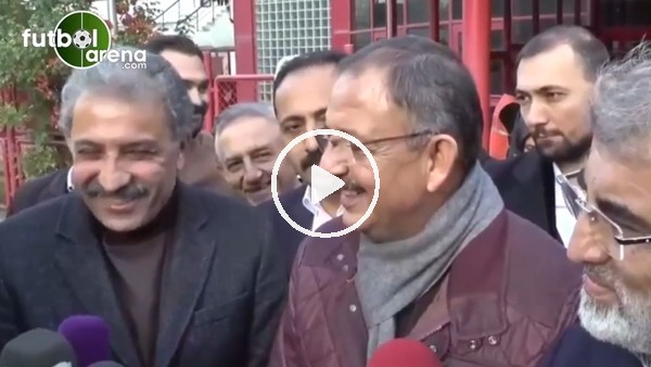 Mehmet Özhaseki'den Kayserispor'a tebrik