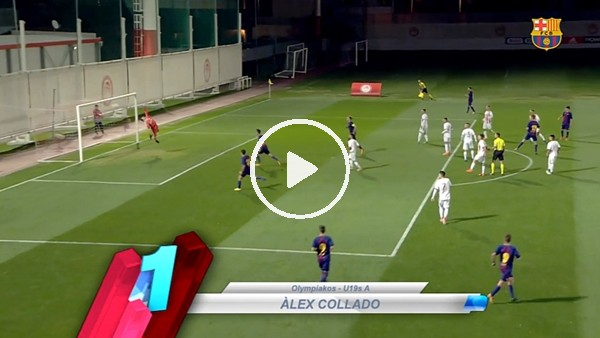Barcelonalı gençlerden çılgın goller
