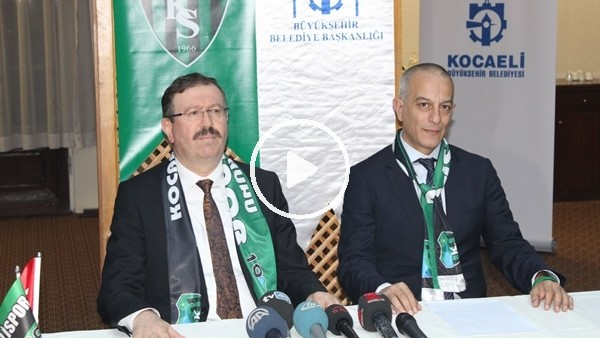 Kocaelispor'un 70 milyon TL'lik vergi borcu ödendi